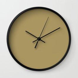 Solid Color CAMEL Wall Clock