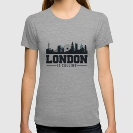 Awesome London Is Calling Skyline UK T-shirt