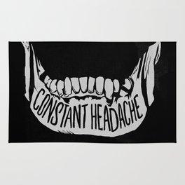 Constant Headache Rug