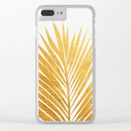 Golden leaf III Clear iPhone Case