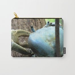 Watercolor Crustacean, Blue Land Crab 01, St John, USVI, Between a Tree and a Hard Place! Carry-All Pouch