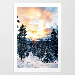 winter vibes #society6 #decor #buyart Art Print