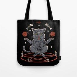 Devious Cat Tote Bag