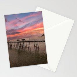 Llandudno Pier Sunset Stationery Cards
