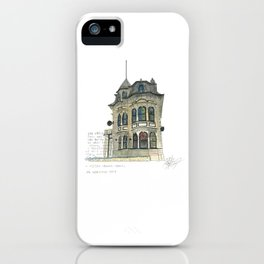 100 Willis Street iPhone Case