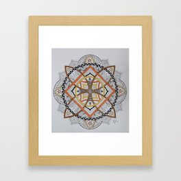 Colorful Knots Framed Art Print
