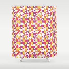 Tri Kolor Shower Curtain