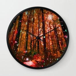 Magic Forest Wall Clock