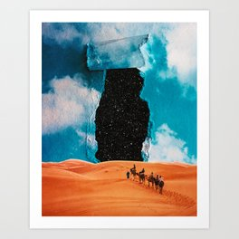 False Sky Art Print