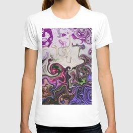 modern marble T-shirt