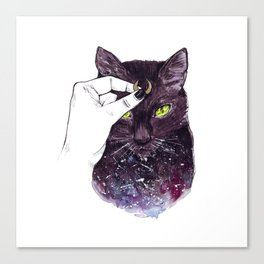 Luna Costume Canvas Print