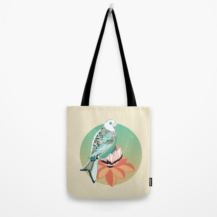 Good Morning lotus Tote Bag