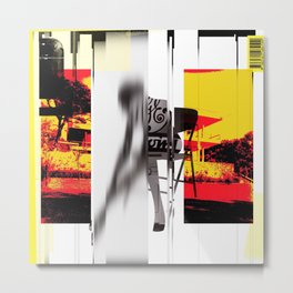 the . sophisticate . 16.2 Metal Print
