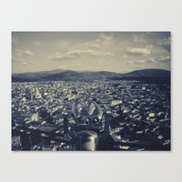 europe Canvas Prints featuring Europe  by Luis Jimenez