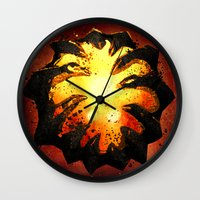 warcraft Wall Clocks featuring Immortality! by Hinasei