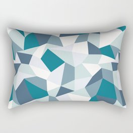 Angular Dimension Rectangular Pillow