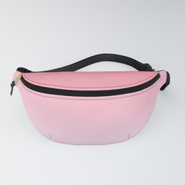 Pastel Ombre Rose Color Gradient Millennial Pink Lilac Cute Pattern Fanny Pack
