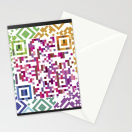 QR codes Stationery Cards