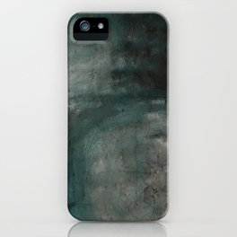 from a distance (earth interrupted V) iPhone Case