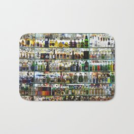 bottled happiness Bath Mat