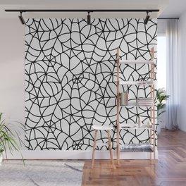 Web Pattern Wall Mural