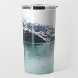 Hubbard Glacier Snowy Mountains Alaska Wilderness Travel Mug