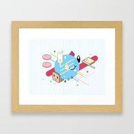 Tasty Visuals - Mayooo Framed Art Print