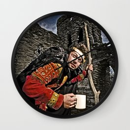 Hunchback Bam Wall Clock