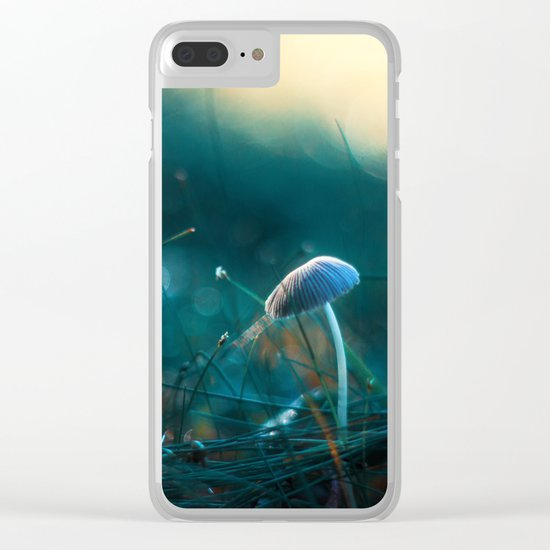 In the Dusk of Dawn Clear iPhone Case