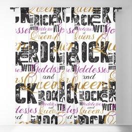 Rock Blackout Curtain