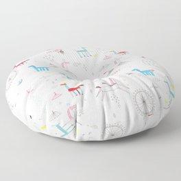 Merry-go-round Floor Pillow