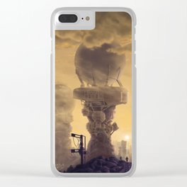Vacuum Module Megastructures Clear iPhone Case
