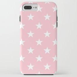 Stars (White/Pink) iPhone Case