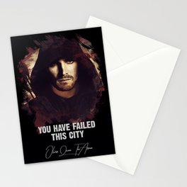 You Have Failed This City - The ARROW Stationery Cards