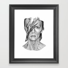 Wood dB Framed Art Print