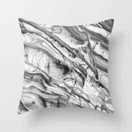 Coastal Rock Throw Pillow