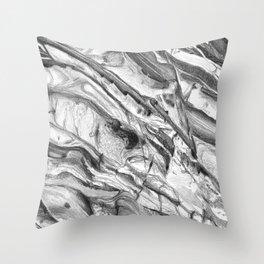 Coastal Rock Throw Pillow