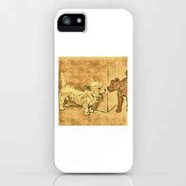 Dogs Large and Small, Ideal for Dog Lovers (19) iPhone Case