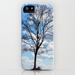 Cielo azul iPhone Case