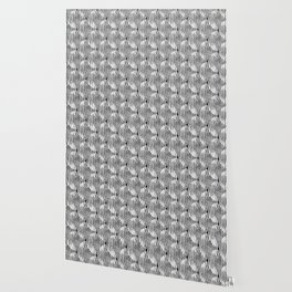 Zen Circles Block Print Wallpaper
