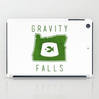 gravity falls iPad Cases featuring Gravity Falls - Grunkle Stan's Fez (White) by pondlifeforme