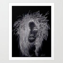 Dark Brigid  Art Print