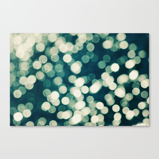 Under a Microscope Canvas Print