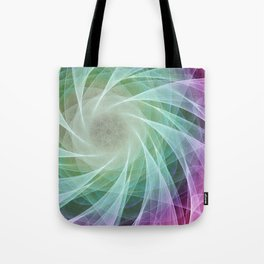 Whirlpool Diamond 2 Computer Art Tote Bag