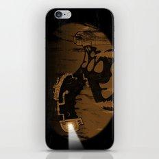 oil monster iPhone Skin
