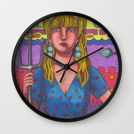 50 Ft Queenie Wall Clock