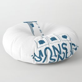 St. Simons Island - Georgia. Floor Pillow