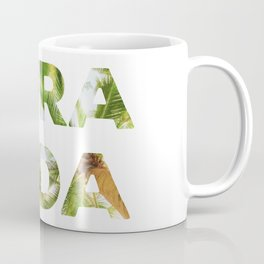 Pura Vida Costa Rica Palm Trees Coffee Mug