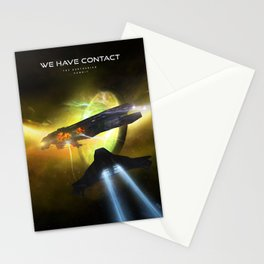 We Have Contact - Portrait 01 Stationery Cards