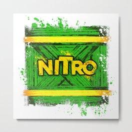 NITRO BOX explosive Metal Print